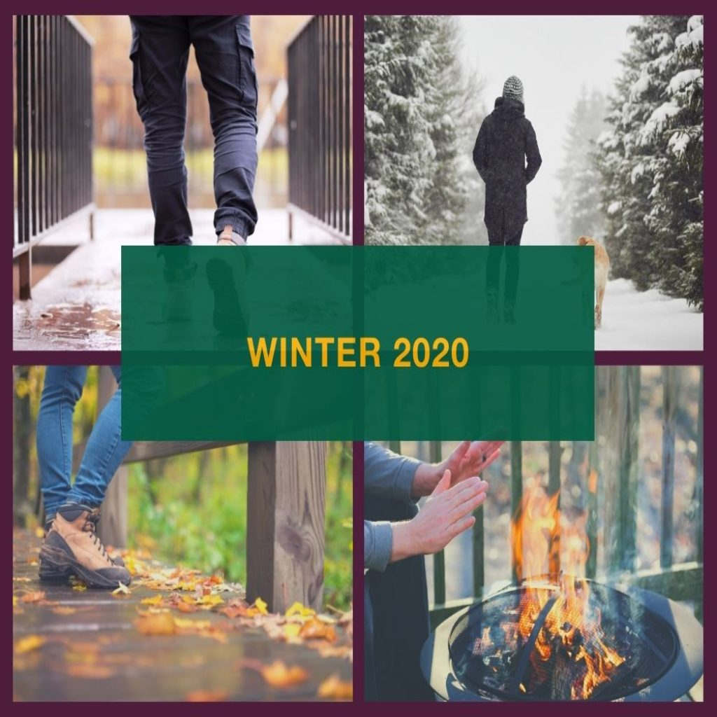 Outdoors in Winter